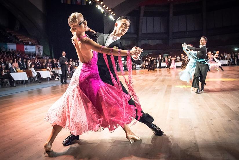 The Quickstep Ballroom Dance