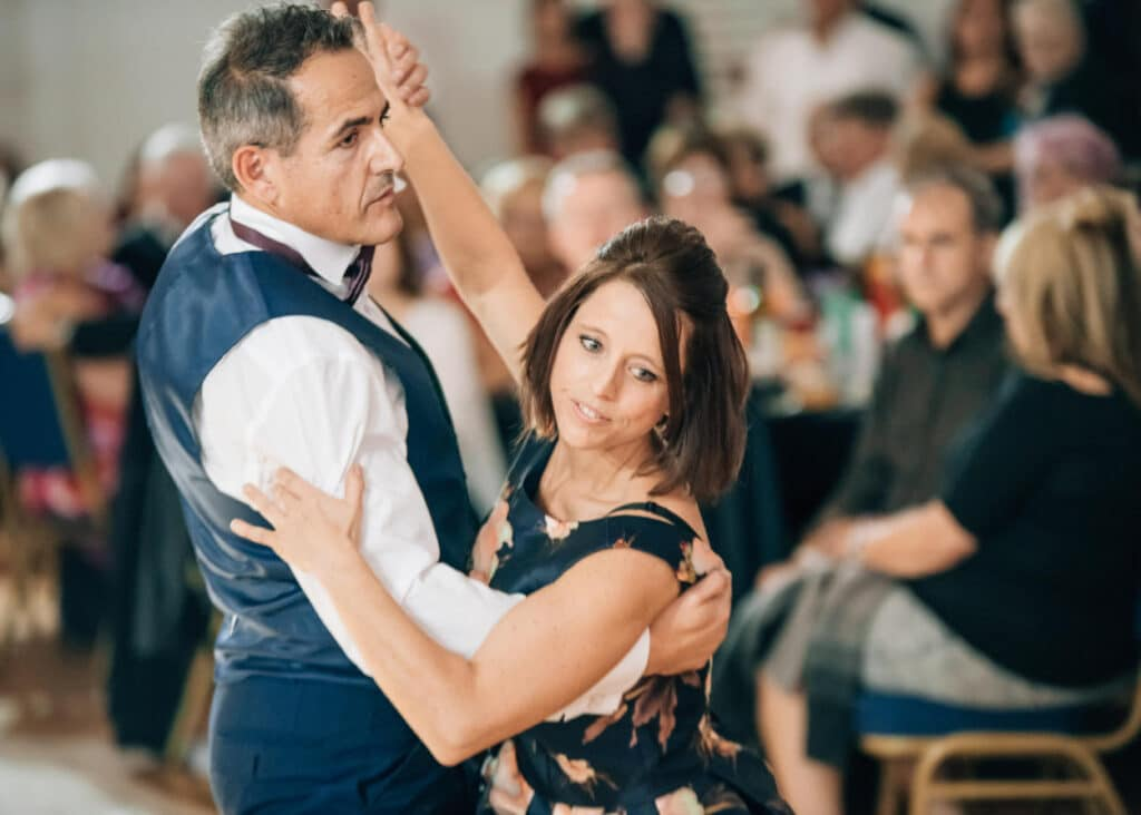 What are the different types of ballroom dance?