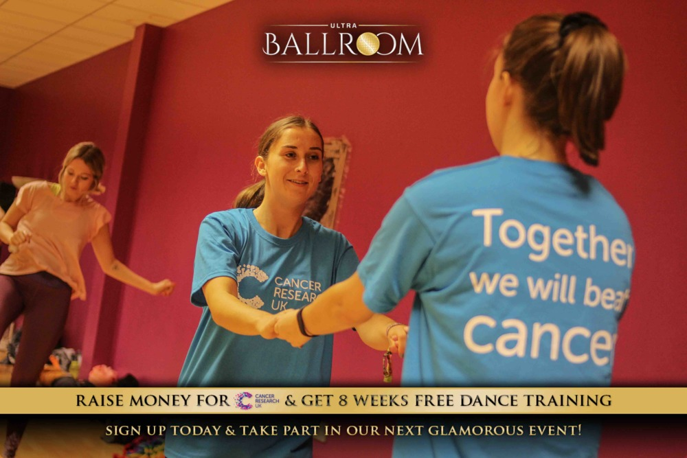 8 weeks free training from Ultra Events for the Ultra Ballroom