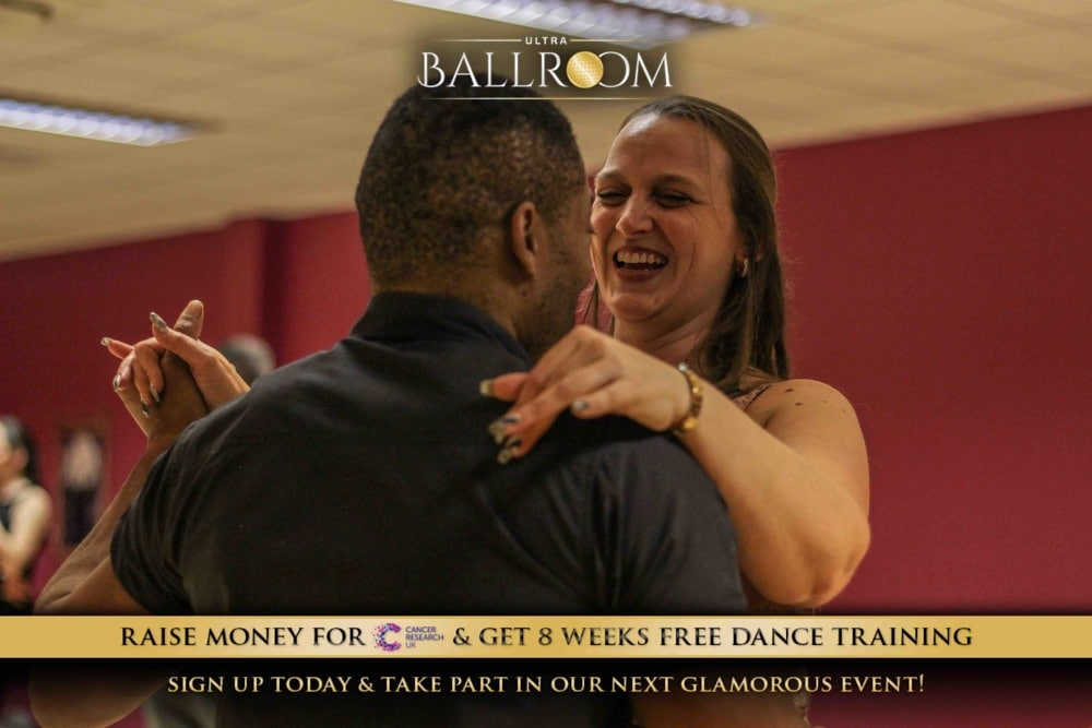 Ultra Ballroom partners training for an event.