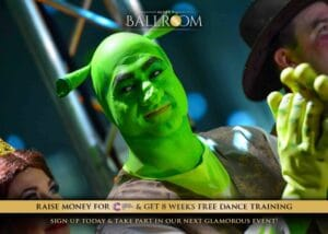 Ultra Ballroom Shrek Costume