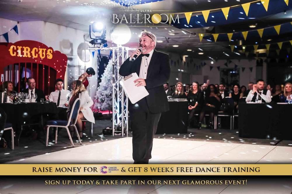 Tom Best, professional Master of ceremonies at Ultra Ballroom.